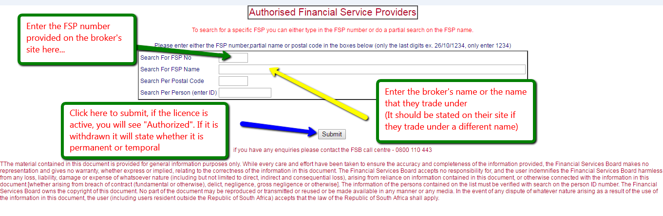 Forex rules south africa